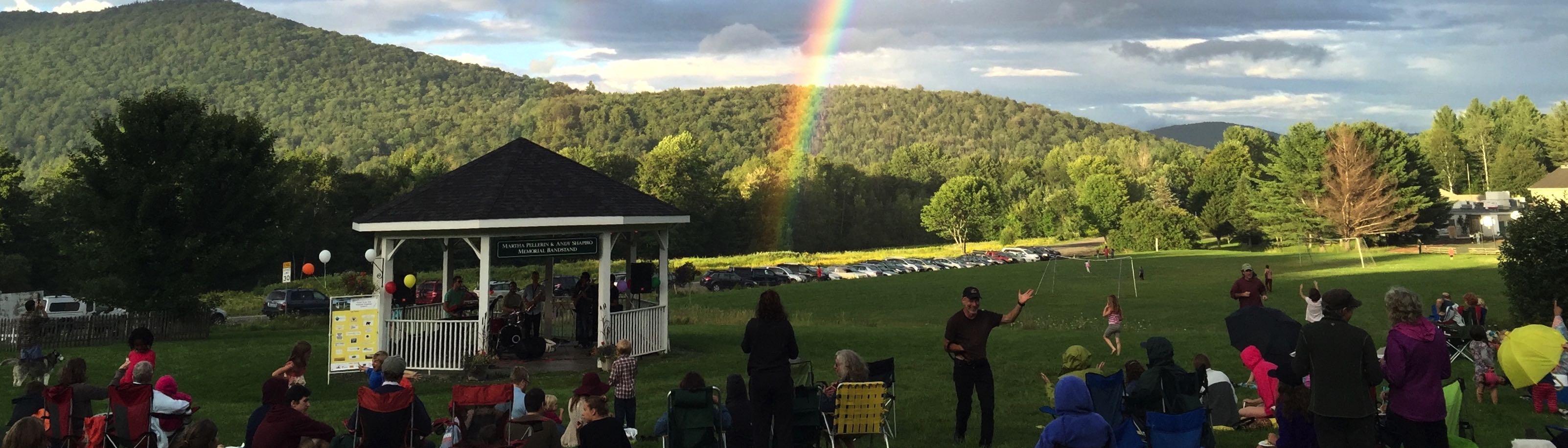 Rainbow Wide Banner